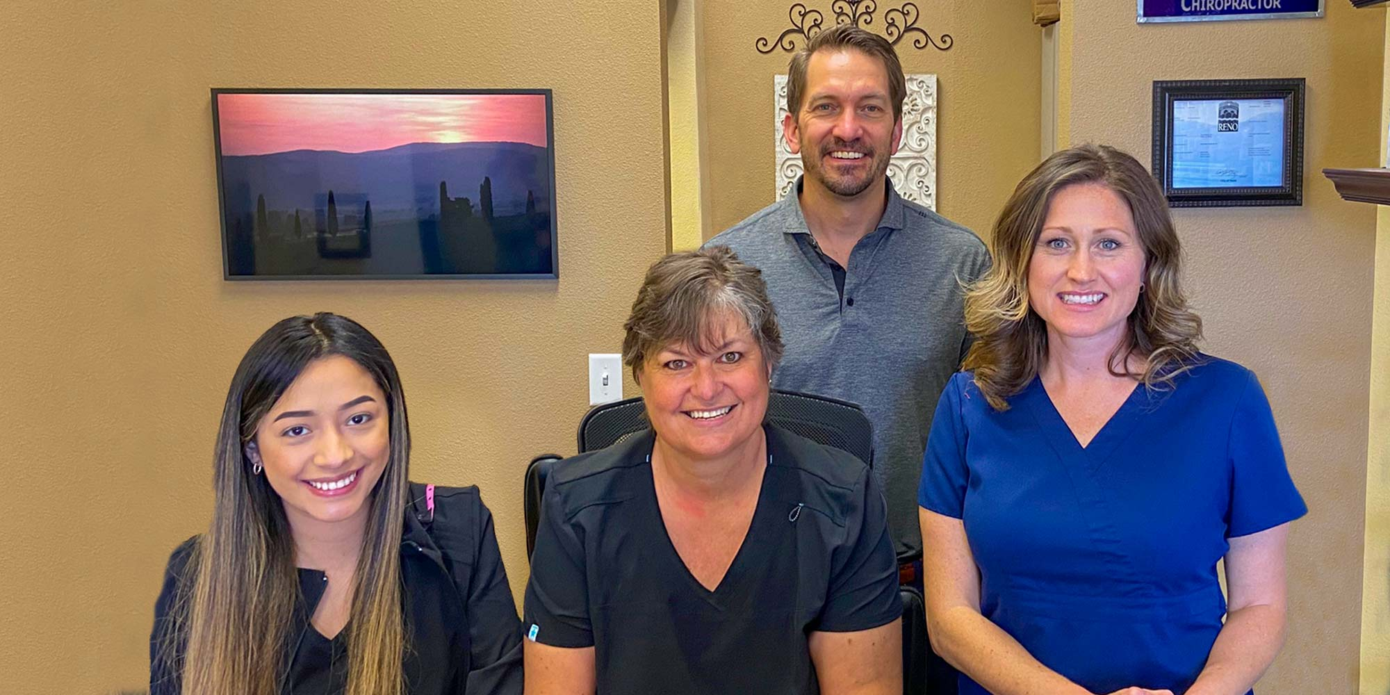 Chiropractor Reno NV Dr. David Berg and Chiropractic Team